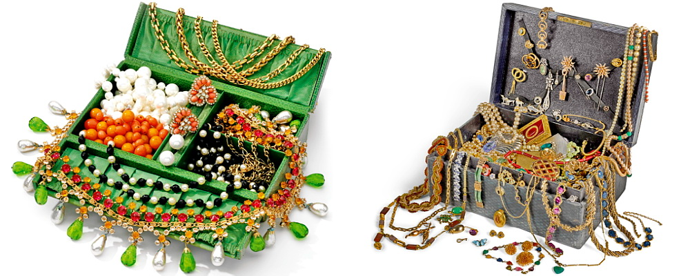 costume jewellery chests