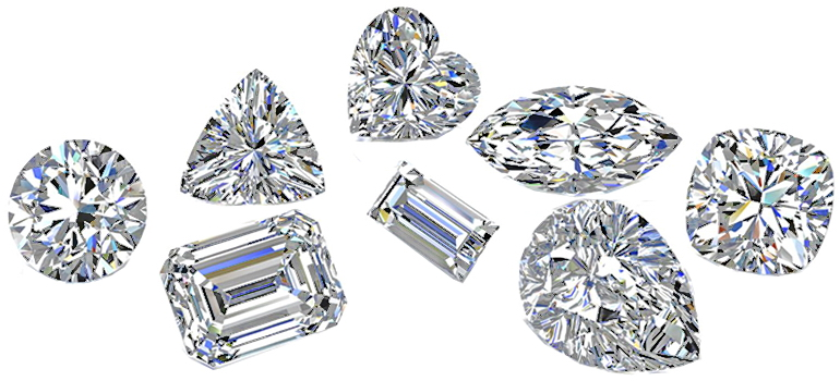 various diamonds Jewellery repairs london